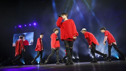 BTS toured the U.S. this past March and April.