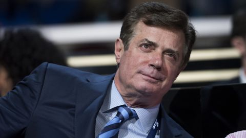 Paul Manafort, advisor to Donald Trump, is seen on the floor of the Quicken Loans Arena at the Republican National Convention in Cleveland, Ohio, July 19, 2016.