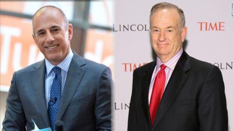 Matt Lauer and Bill O'Reilly