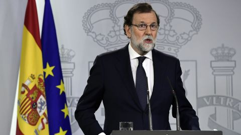 """Spain's PM has called on separatists to stop the """"escalation of radicalism and disobedience."""""""
