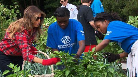 Melania Trump White House garden event sot_00000000.jpg