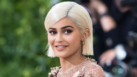 Kylie Jenner at the Met Gala in May.