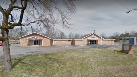 An image of Burnette Chapel Church of Christ in 2016, taken from Google Maps