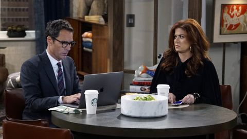 """Eric McCormack and Debra Messing star in """"Will & Grace,"""" a sitcom about a gay man and his best friend."""