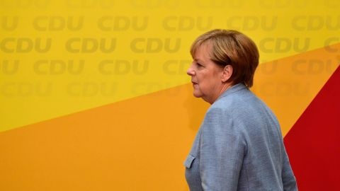 German Chancelor Angela Merkel has eliminated competitors and failed to groom a  successor.