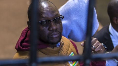 Zimbabwean pastor Evan Mawarire was detained at a Harare court in June but was later freed on bail.
