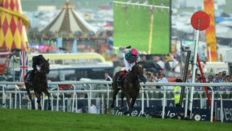 At Epsom in June, veteran jockey Frankie Dettori onboard Enable stormed home in the Oaks, the third Classic of the year. The race for three-year-old fillies is run over 1 mile, 4 furlongs and comes the day before the Derby.
