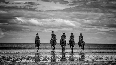 In early September, Laytown in County Meath, Ireland, hosts a unique meeting on the beach.