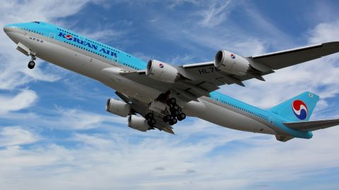 Korean Air Boeing 747 passenger jet delivered July 2017 -- very likely the past one ever.