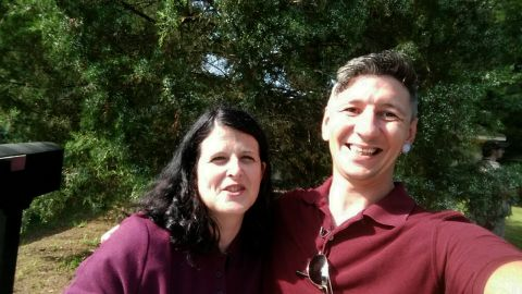 Tracey Helton and Ryan Coleman
