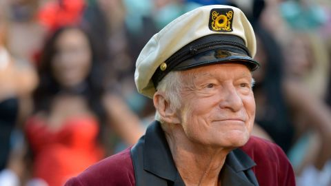 LOS ANGELES, CA - JANUARY 16:  Hugh Hefner poses at Playboy's 60th Anniversary special event on January 16, 2014 in Los Angeles, California.  (Photo by Charley Gallay/Getty Images for Playboy)