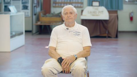 Harold Bray, 90, survived the sinking of the USS Indianapolis in 1945.