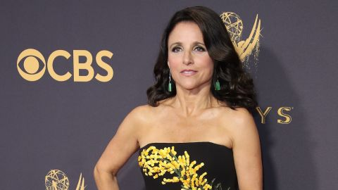 """Julia Louis-Dreyfus announced she has breast cancer in a post on her official Twitter account in September 2017. Louis-Dreyfus wrote that """"1 in 8 women get breast cancer. Today, I'm the one."""""""