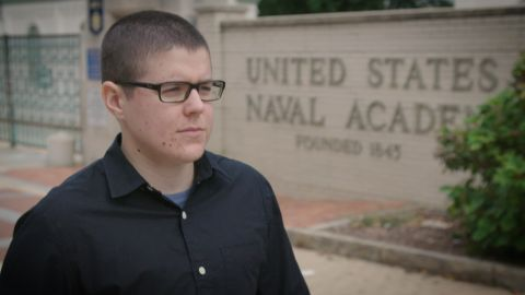 Regan Kibby is currently a transgender midshipmen at the Naval Academy in Annapolis Maryland.