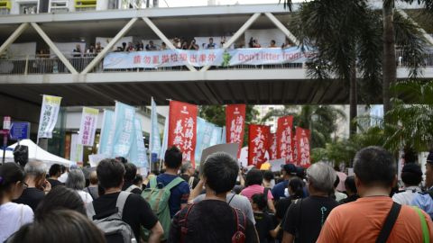Hundreds turned out Sunday, but opposition leaders are struggling to convert protest energy into concrete achievements.