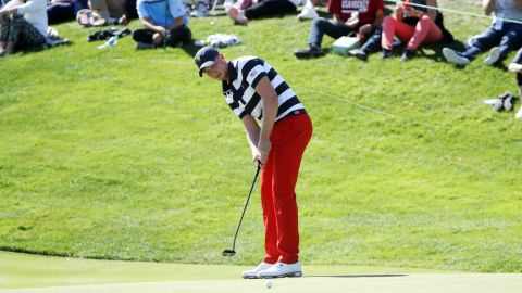 """""""What a feeling,"""" said Berger after being told that a half point in his match with Kim would be enough to clinch the Cup. """"Strick (US captain Steve Stricker) came up to me on 16 and told me the half a point was good enough. And then I just wanted to close out that match. It was an amazing week, and I feel excited for everyone on the team."""""""