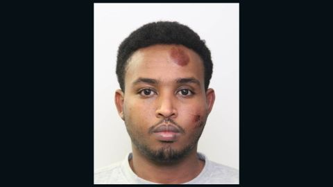 Abdulahi Hasan Sharif, 30, has been charged with attempted murder in two attacks.