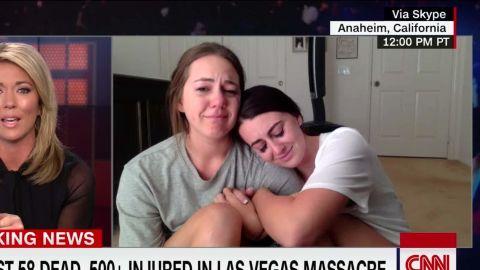 two girls talk las vegas shooting nr intv sot baldwin _00014920.jpg