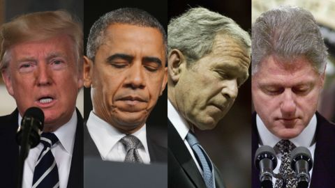 cnnee digital pkg presidentes estados unidos discursos tiroteos masivos clinton bush obama trump_00000412.jpg