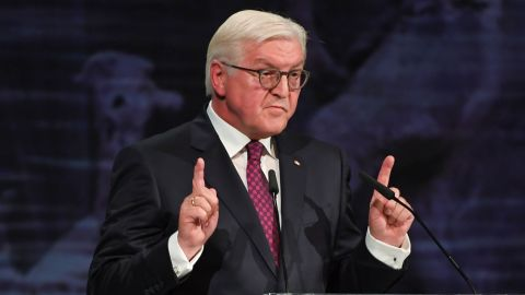 German President Frank-Walter Steinmeier said Monday that the country's parties had a responsibility to try to form a government.