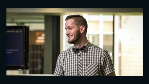 Finalist Raymond Chambers, a teacher at Brooke Weston Academy in the UK, developed new software for learning, using Microsoft Kinect. He has made ICT lessons more fun and engaging for his pupils.