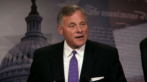 Sen. Richard Burr, a North Carolina Republican, voted against the legislation because it included $16 million in cuts to the Land Water Conservation Fund, an aide told CNN on Wednesday.