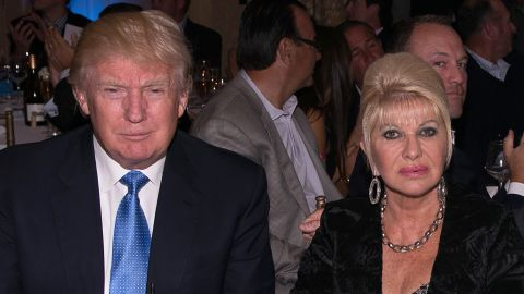 Donald Trump and Ivana Trump attend The Eric Trump 8th Annual Golf Tournament at Trump National Golf Club Westchester on September 15, 2014 in Briarcliff Manor, New York.