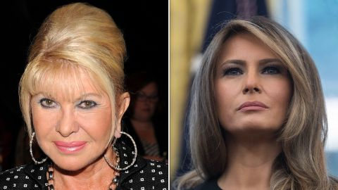 Ivana was married to Trump for 15 years. Current wife Melania has been married to the President for almost 13 years.