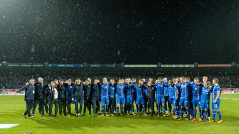 """With a population of just 335,000, Iceland became the <a href=""""http://edition.cnn.com/2017/10/10/football/iceland-world-cup-russia-2018/index.html"""">smallest country ever to qualify for the World Cup</a> after beating Kosovo 2-0 to ensure the islanders topped European qualifying Group I."""