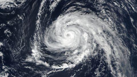 15:12 UTC; Hurricane Ophelia (17L) in the Atlantic Ocean; Satellite: SNPP