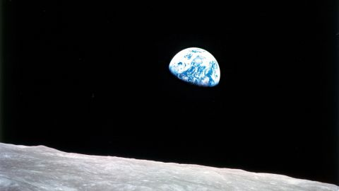 Earthrise, 1968, William Anders, photograph, dimensions variable, Johnson Space Center, Houston, TX.