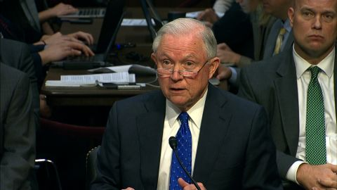 jeff sessions oversight hearing