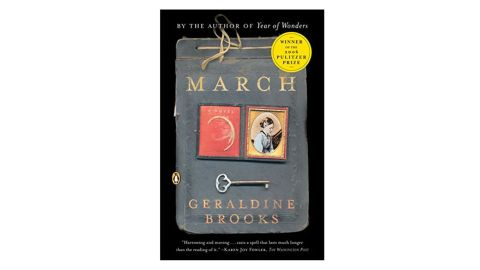 """<strong>2006 </strong><br /><br /><strong>""""March"""" by Geraldine Brooks ($11.67; </strong><a href=""""http://amzn.to/2Fu1M6z"""" target=""""_blank"""" target=""""_blank""""><strong>amazon.com</strong></a><strong>)  </strong><br /><strong>  </strong>"""
