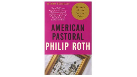 """<strong>1998 </strong><br /><br /><strong>""""American Pastoral"""" by Philip Roth ($11.52; </strong><a href=""""http://amzn.to/2D8iOsm"""" target=""""_blank"""" target=""""_blank""""><strong>amazon.com</strong></a><strong>) </strong>"""