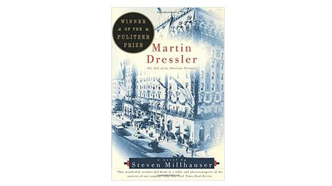 """<strong>1997 </strong><br /><br /><strong>""""Martin Dressler: The Tale of an American Dreamer"""" by Steven Millhauser ($13.41; </strong><a href=""""http://amzn.to/2DoZDsh"""" target=""""_blank"""" target=""""_blank""""><strong>amazon.com</strong></a><strong>) </strong>"""