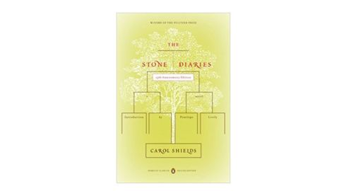 """<strong>1995 </strong><br /><br /><strong>""""The Stone Diaries"""" by Carol Shields ($11.37; </strong><a href=""""http://amzn.to/2D7ohQ8"""" target=""""_blank"""" target=""""_blank""""><strong>amazon.com</strong></a><strong>) </strong>"""