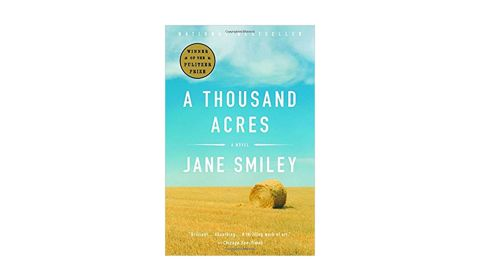 """<strong>1992 </strong><br /><br /><strong>""""A Thousand Acres"""" by Jane Smiley ($12.85; </strong><a href=""""http://amzn.to/2Do7PZy"""" target=""""_blank"""" target=""""_blank""""><strong>amazon.com</strong></a><strong>) </strong>"""
