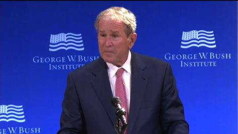 george w bush speech