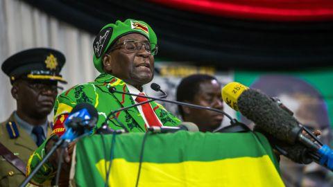 Zimbabwean President Robert Mugabe, one of Africa's longest-serving leaders, has ruled since 1980.