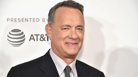 """NEW YORK, NY - APRIL 26:  Tom Hanks attends """"The Circle"""" Premiere at the BMCC Tribeca PAC on April 26, 2017 in New York City."""