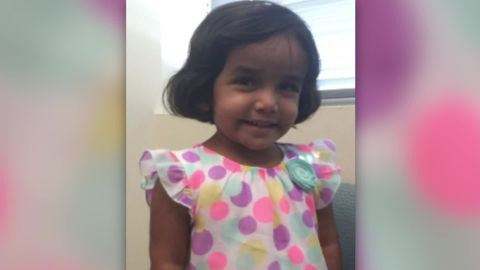 Sherin, 3, was adopted from India.