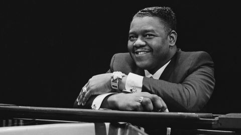 Pianist and singer-songwriter Fats Domino in a photo from 1967.