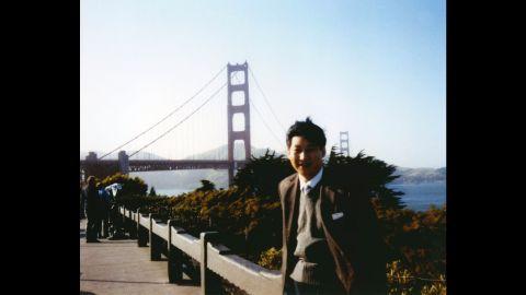 Xi visits San Francisco in 1985.