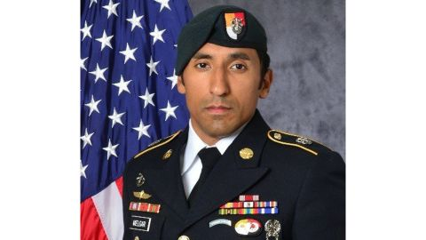 Staff Sgt. Logan Melgar, a Green Beret seen in this undated file photo, was killed in June 2017 in Mali.