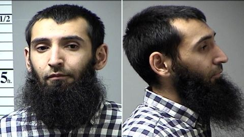 Sayfullo Saipov after his October 2016 arrest on a traffic violation in St. Charles County, Missouri.