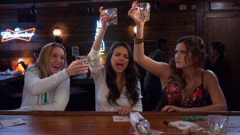 BAD MOMS, from left: Kristen Bell, Mila Kunis, Kathryn Hahn, 2016. ph: Michelle K. Short / © STX Entertainment / courtesy Everett Collection