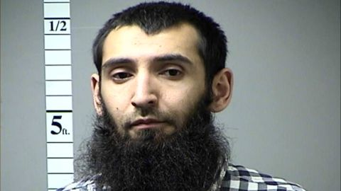 Terror suspect Sayfullo Saipov is seen in this photo from a prior arrest in Missouri.