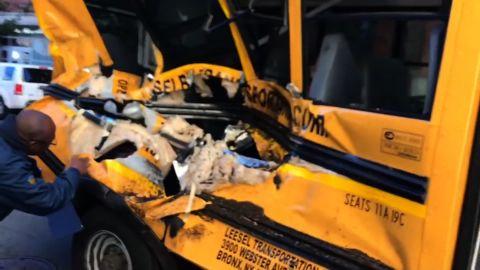 NYC school bus attack