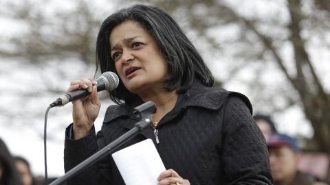 US Rep. Pramila Jayapal, D-WA