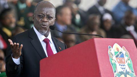 Tanzanian President John Magufuli urges citizens to keep reproducing.